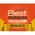 2017 Best of the Okanagan Winner Award