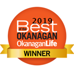 2019 Best of the Okanagan Winner Award