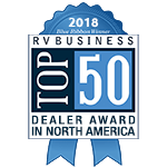 Top 50 RV Business in North America Award