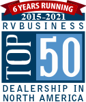 RV Business Top 50 Dealership in North America for 2021
