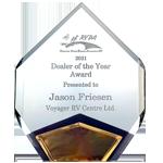 RVDA of BC Dealer of the Year Award 2021
