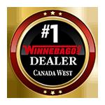 #1 Winnebago Dealer in Canada West