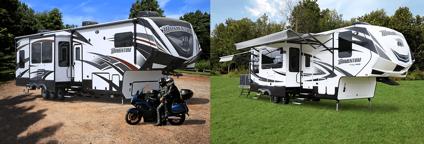 Grand Design Momentum Fifth Wheel Toy Haulers