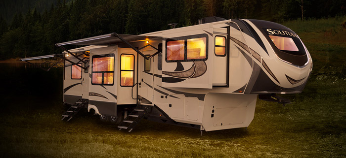 Grand Design Solutude Fifth Wheel and Solitude S-Class Fifth Wheel