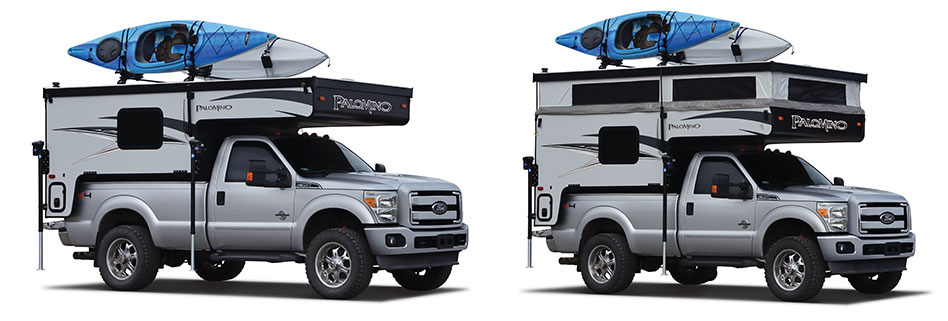 Backpack Truck Camper 1