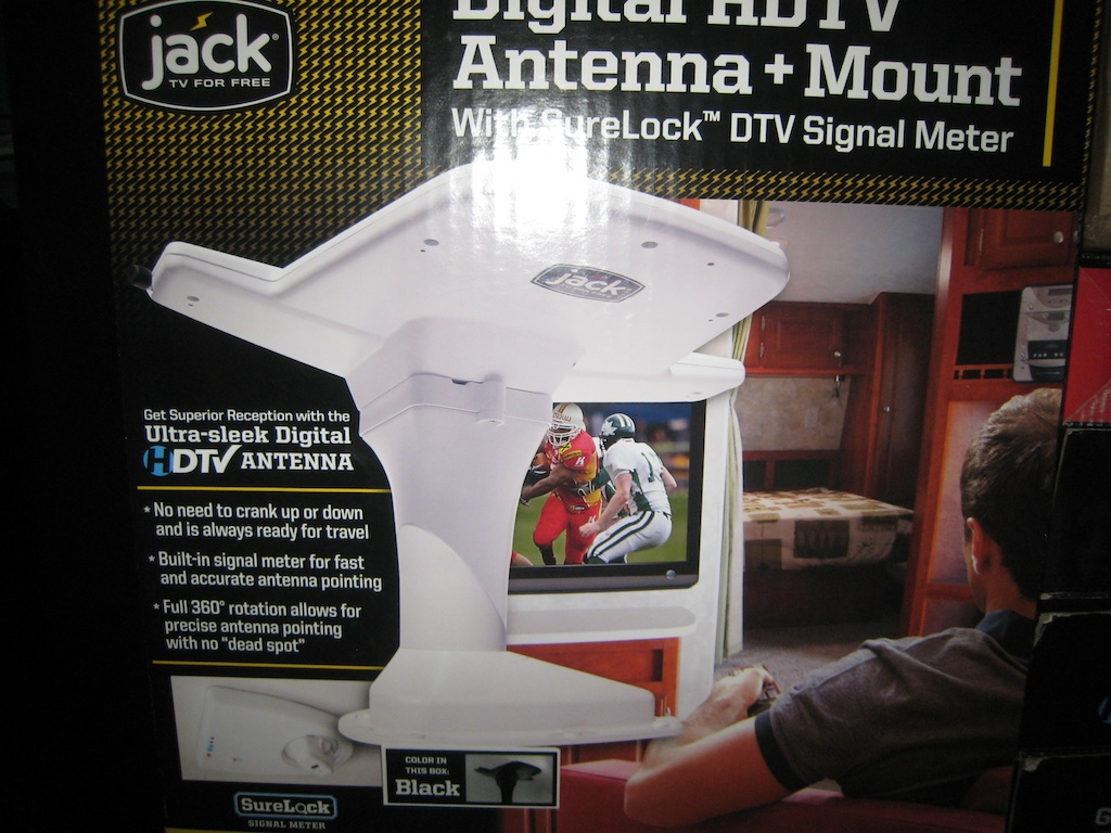 Digital HDTV Antenna and Mount
