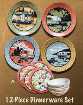 12 pc dinnerware set