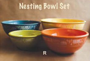 4 Pc Nesting Bowl Set
