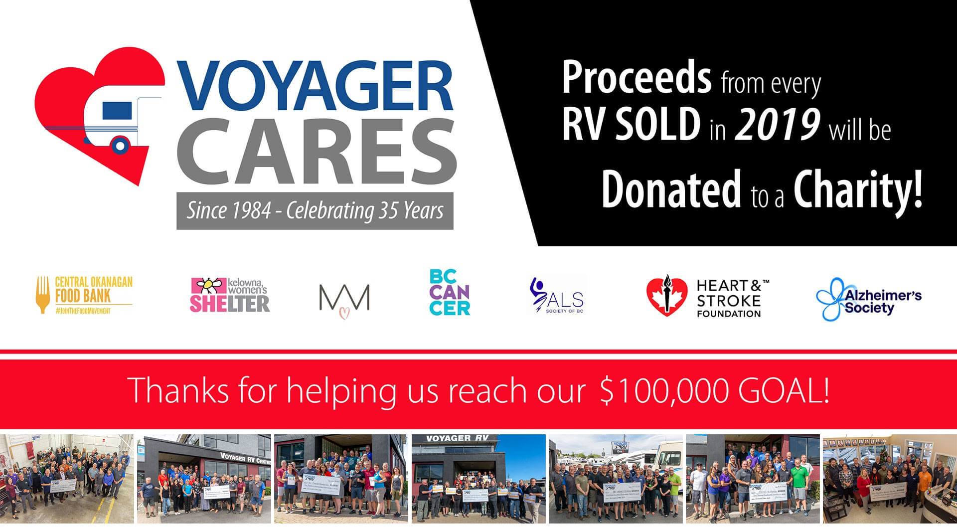 Voyager Cares Charity Drive