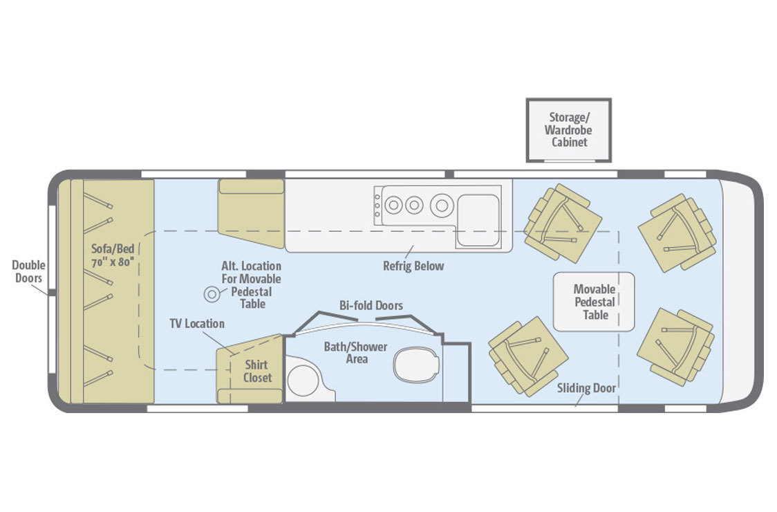 2017 Winnebago Era 70X Floorplan