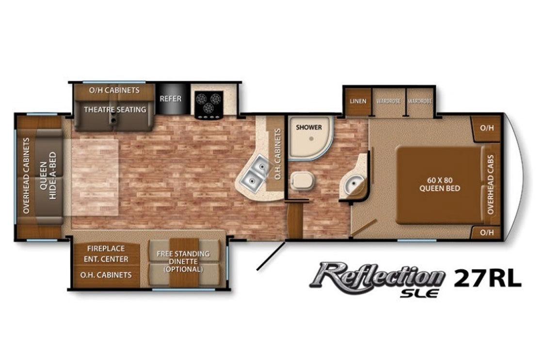 Grand design solitude problems - Floorplan