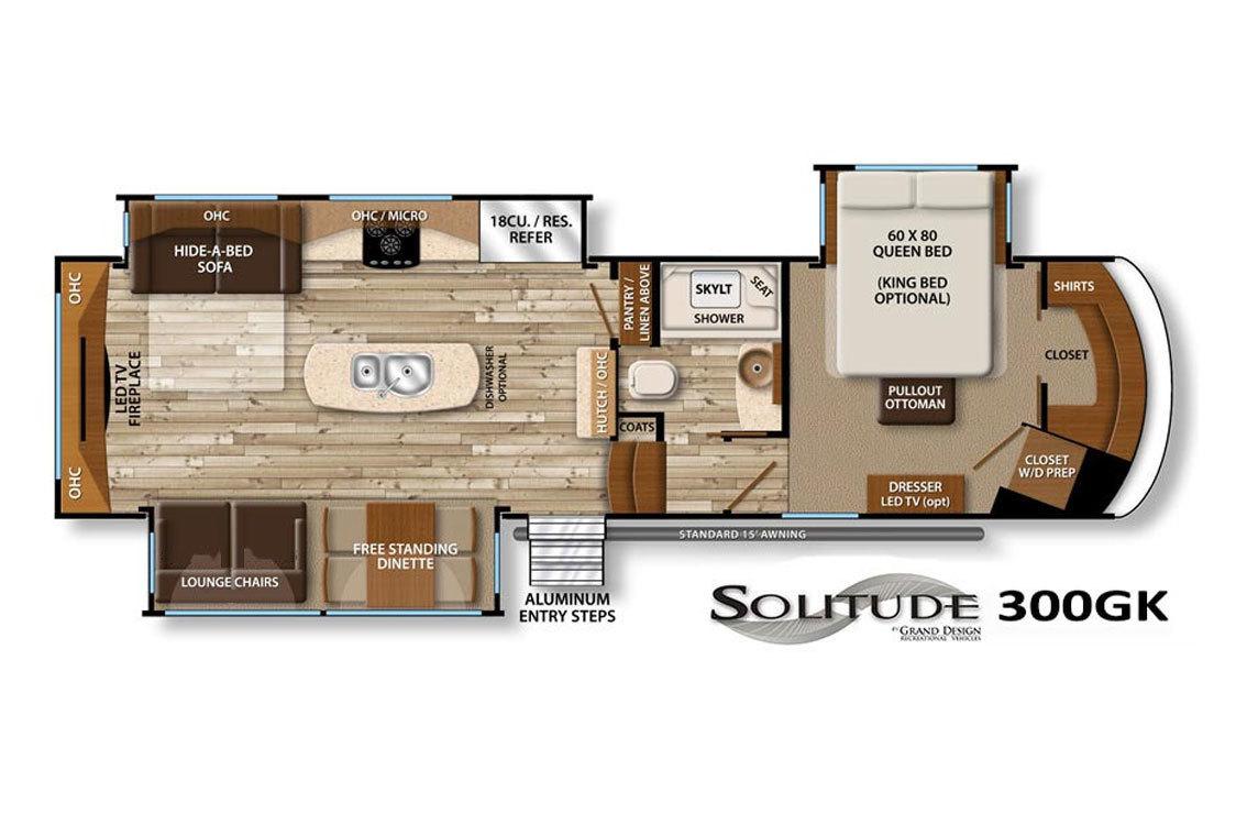 For Sale New 2017 Grand Design Solitude 321rl 5th Wheels Voyager Rv Centre