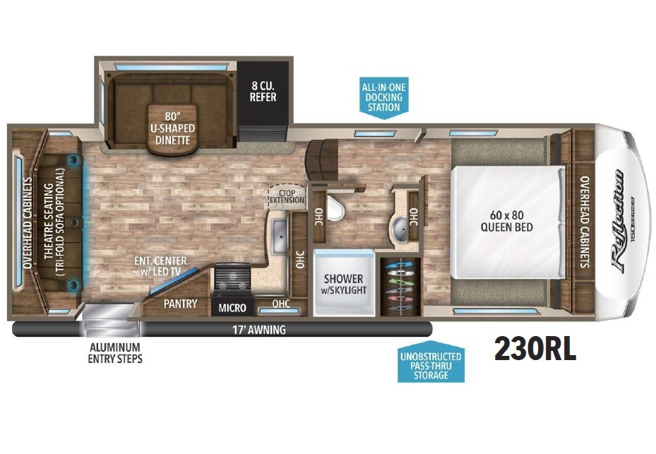 2018 Jayco Eagle HT 28.5RSTS Floorplan