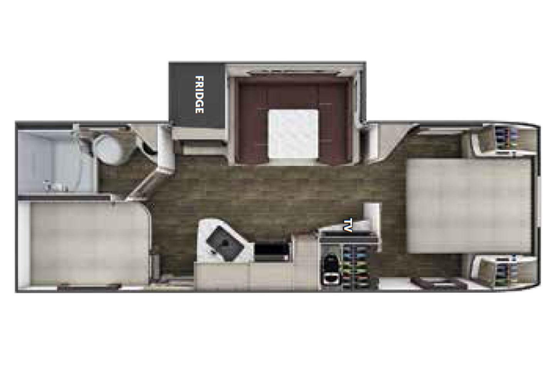2021 Lance 2445  Floorplan