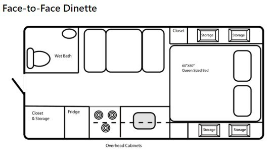 2020 Northern Lite 8.11 EX Wet Bath Limited Edition Floorplan