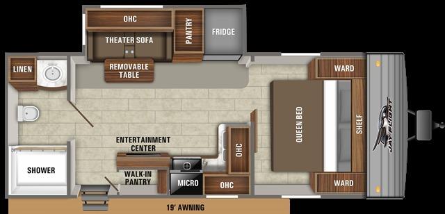 2021 Jayco Jay Flight Rocky Mountain 237RBSW Floorplan