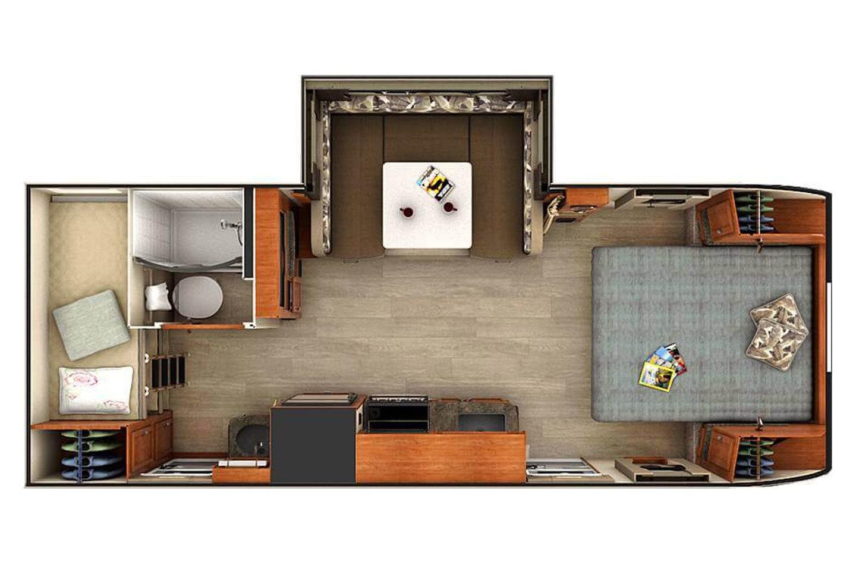 2021 Lance 2185  Floorplan