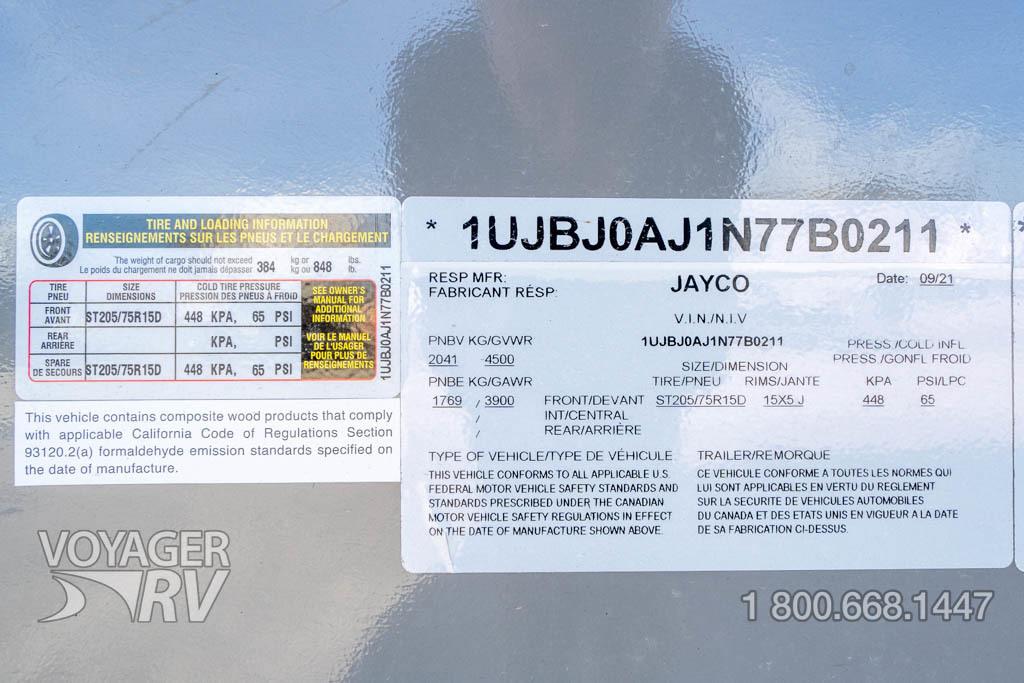 2022 Jayco Jay Flight SLX-7 184BS GL