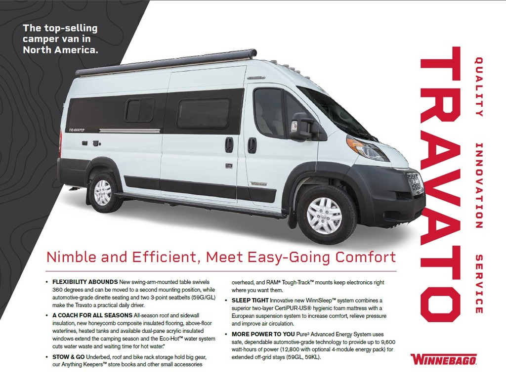 2021 Winnebago Travato 59G