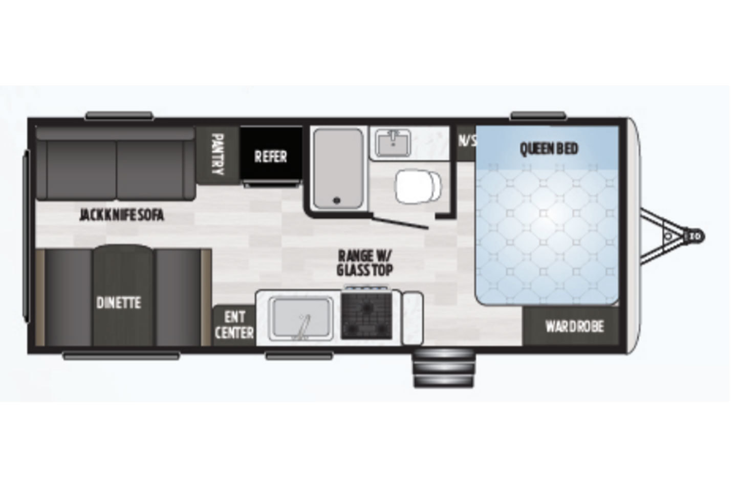 2021 Jayco Jay Flight SLX-7 183RB GL Floorplan