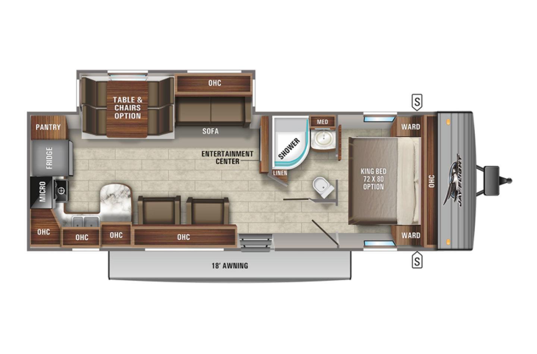 2022 Jayco Jay Flight 29RKS Elite GL Floorplan