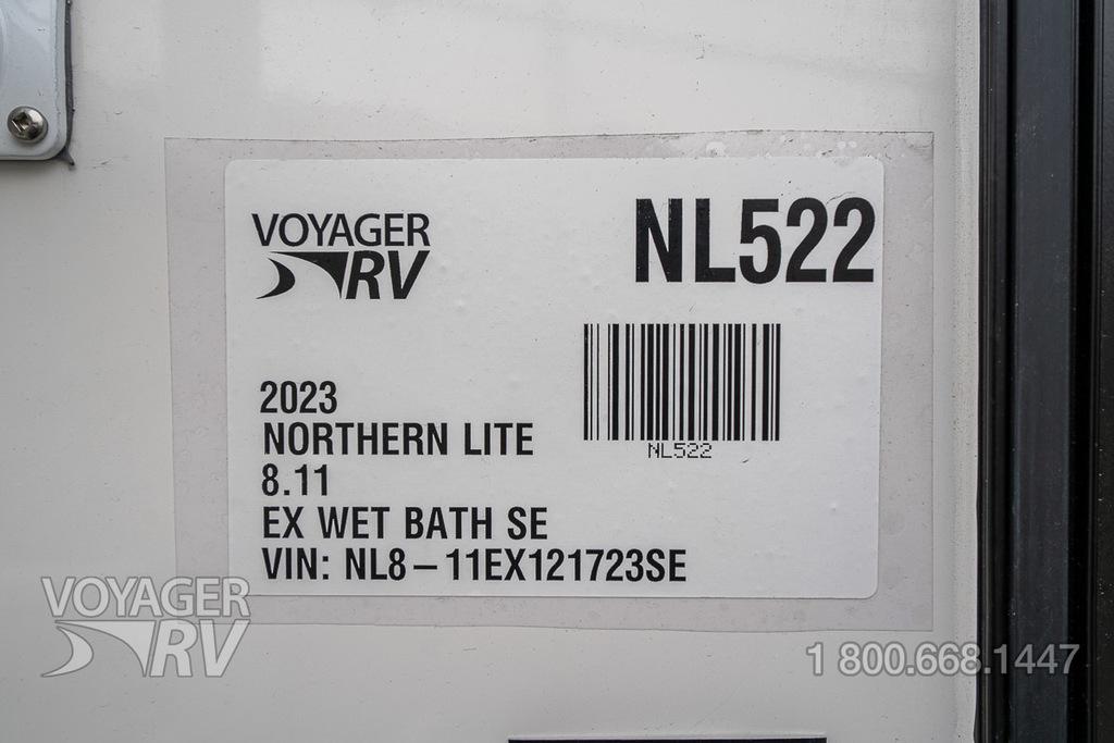 2021 Northern Lite 8.11 EX Wet Bath Special Edition