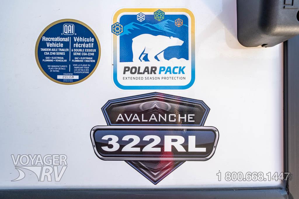 2022 Keystone Avalanche  322RL