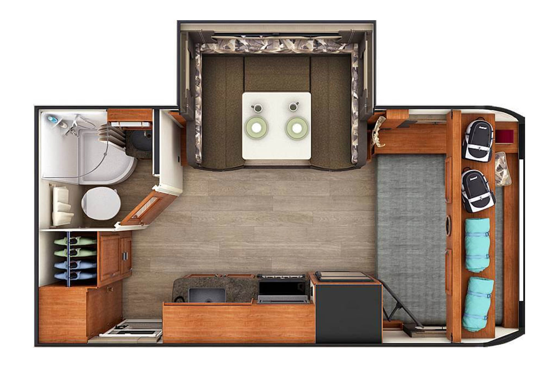 2021 Lance 1685  Floorplan