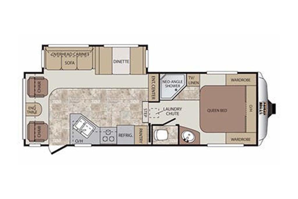 2014 Open Range Light LX249RBS Floorplan