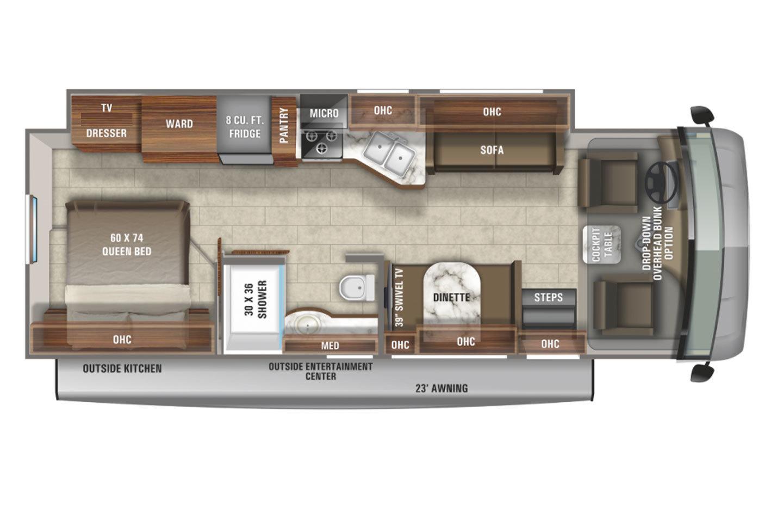 2022 Jayco Alante 29S Floorplan