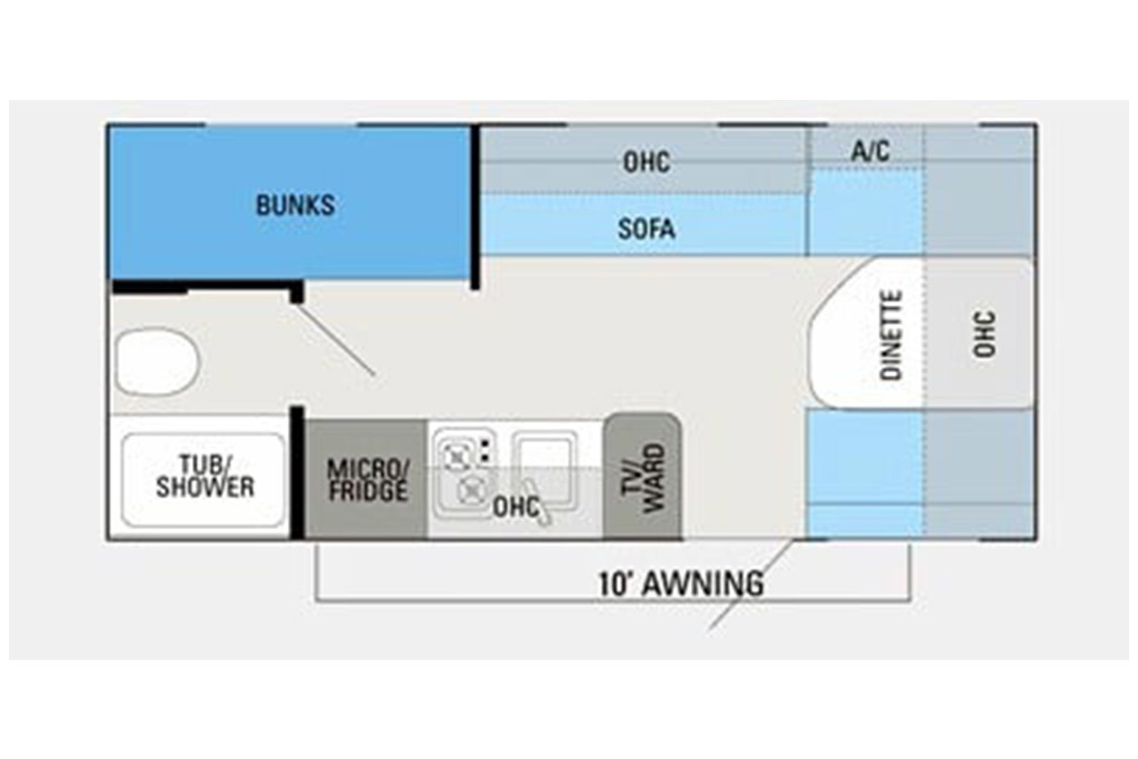 2013 Jayco Jay Flight Swift SLX 184BH Floorplan