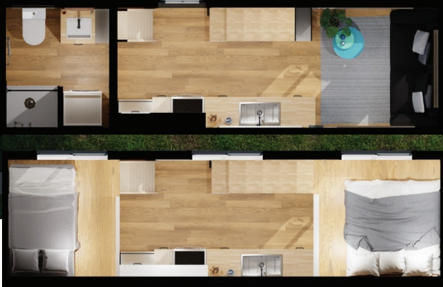 2021 Stattonrock West Coast Tiny Home Floorplan