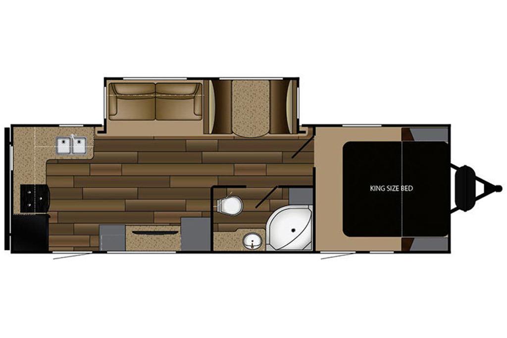 2012 Jayco Eagle 256RKS Floorplan